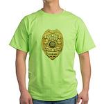 Wheat Ridge Police Green T-Shirt