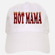 Hot Mama Baseball Baseball Cap
