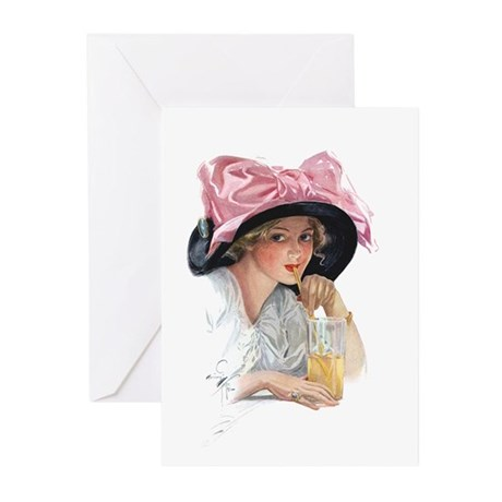 PINK DELIGHT Greeting Cards (Pk of 10)