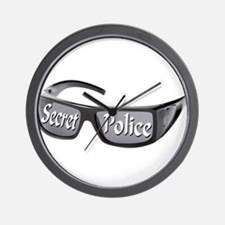 Secret Police Wall Clock