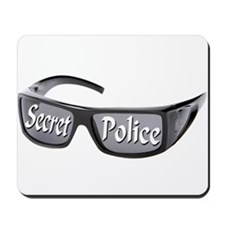 Secret Police Mousepad