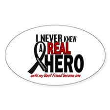 Never Knew A Hero 2 MELANOMA (Best Friend) Decal