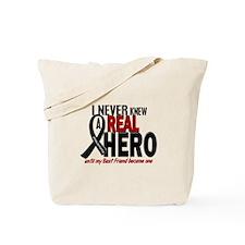 Never Knew A Hero 2 MELANOMA (Best Friend) Tote Ba