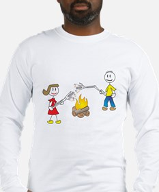stick people w/ marshmallows Long Sleeve T-Shirt