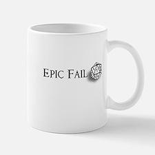 Epic Fail d20 Mug