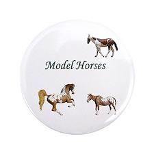 """Model Horse 3.5"""" Button"""