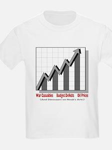 Casualties, Deficits, Oil Kids T-Shirt