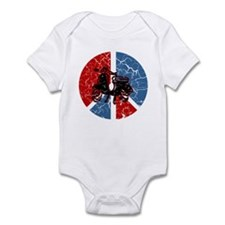 Peace Out Scooter Infant Bodysuit