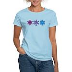 Snowflakes Women's Light T-Shirt