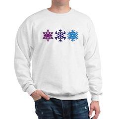 Snowflakes Sweatshirt
