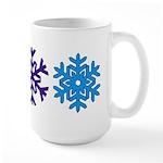 Snowflakes Large Mug