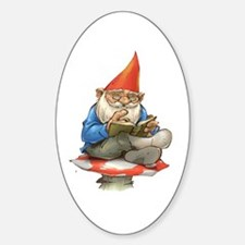 Gnome Oval Decal