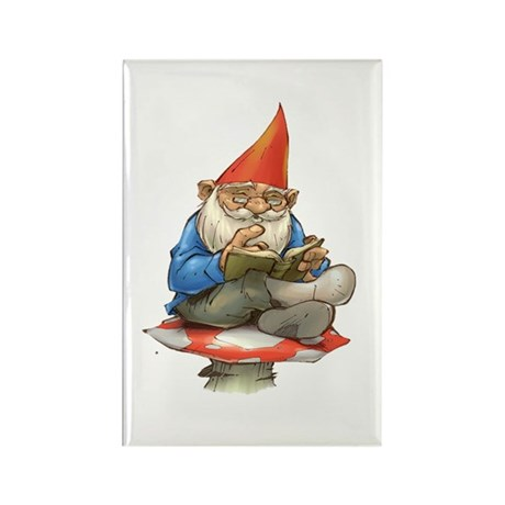 Gnome Rectangle Magnet (10 pack)