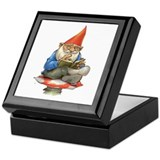 Gnome Square Keepsake Boxes
