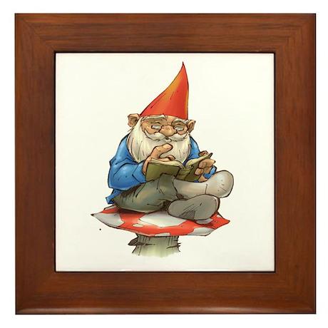 Gnome Framed Tile
