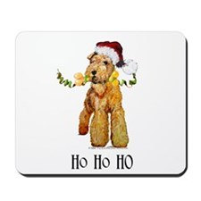 Irish Terrier HO HO HO Mousepad
