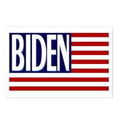 Joe Biden American Flag Postcards (8)