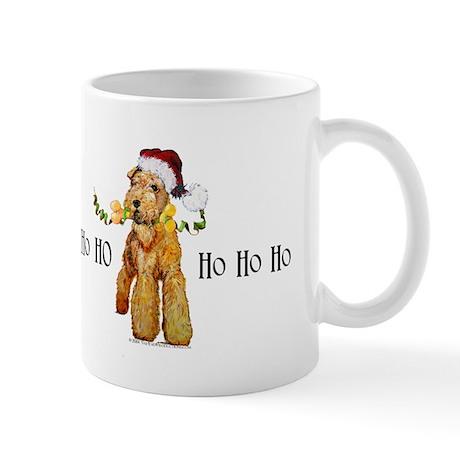 Irish Terrier HO HO HO Mug