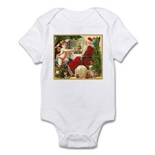 Santa New Year Infant Bodysuit