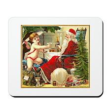 Santa New Year Mousepad