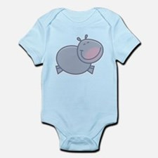 Happy Hippo Infant Bodysuit