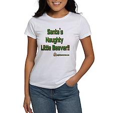 Santa's Naughty Little Beaver Tee