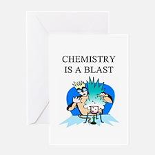 funny chemistry jokes Greeting Card