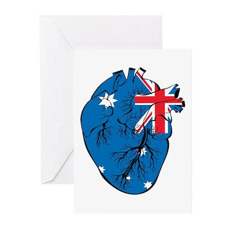 Heart Australia Greeting Cards (Pk of 20)