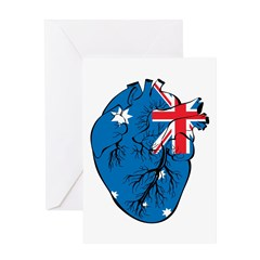 Heart Australia Greeting Card