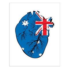 Heart Australia Posters