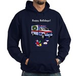 EMS Happy Holidays Greetings Hoodie (dark)