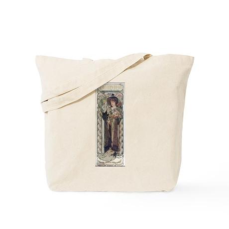 Sarah Bernhardt in Tosca Tote Bag