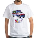 EMS Happy Holidays Greetings White T-Shirt