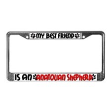 Anatonian Shepherd License Plate Frame