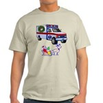 EMS Happy Holidays Greetings Light T-Shirt