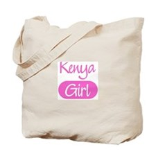Kenya girl Tote Bag