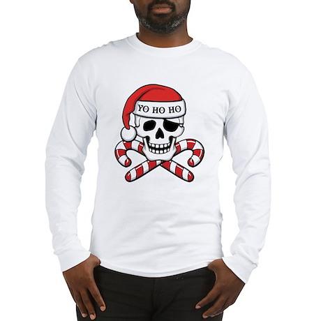 Christmas Pirate Long Sleeve T-Shirt