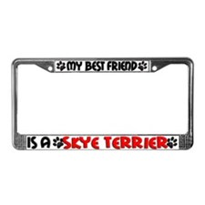 Skye Terrier License Plate Frame