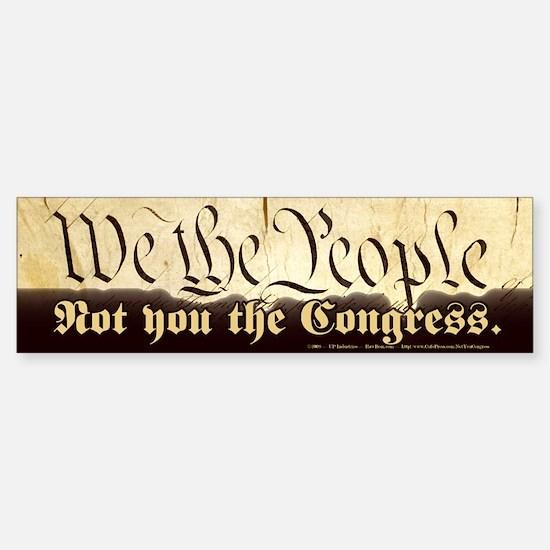 We the People - Bumper Bumper Bumper Sticker