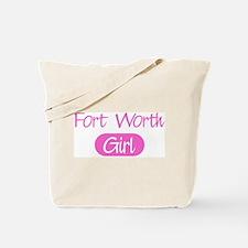 Fort Worth girl Tote Bag