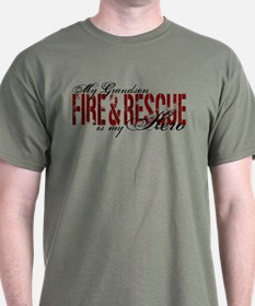 Grandson My Hero - Fire & Rescue T-Shirt