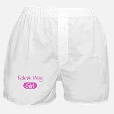 Federal Way girl Boxer Shorts