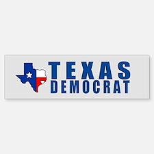 TEXAS DEMOCRAT Bumper Bumper Bumper Sticker