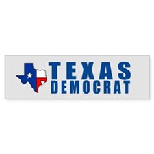 TEXAS DEMOCRAT Bumper Bumper Sticker
