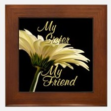 My Sister My Friend Framed Tile