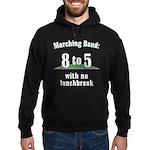 Marching 8to5 Hoodie (dark)