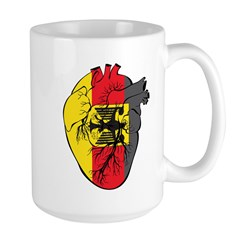 Heart Germany Mug