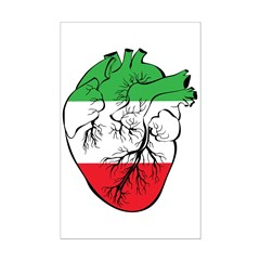 Heart Italy Posters