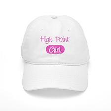 High Point girl Baseball Cap