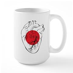 Heart Japan Mug